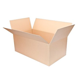 Karton Faltkarton braun 1-wellig 300 x 200 x 200 mm